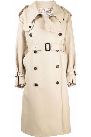Maison Margiela Senhora Casacos de Inverno - Oversized trench coat