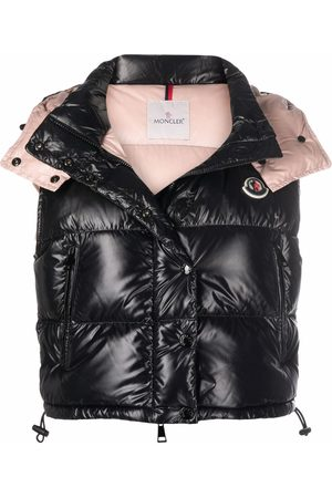 Moncler Cropped padded down gilet