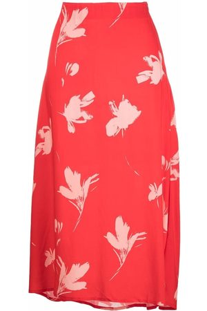 La Seine & Moi Floral-print midi skirt