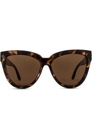 Le Specs Senhora Óculos de Sol - Liar Liar Sunglasses in - Brown. Size all.