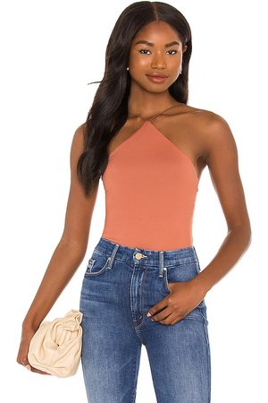 Alix NYC Bates Bodysuit in - Rust. Size L (also in XS, S, M).