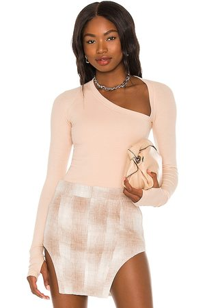 Alix NYC Stratton Bodysuit in - Nude. Size L (also in XS, S, M).