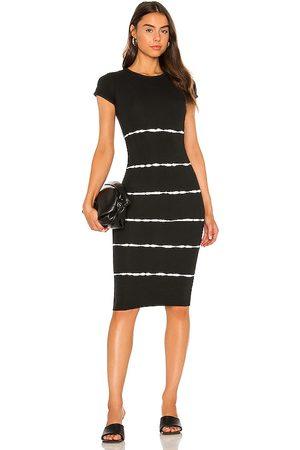 AllSaints Niko Tie Dye Stripe Dress in - . Size 00 (also in 0, 2, 4, 6, 8, 10).