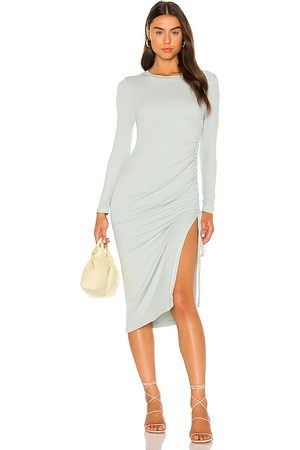 SNDYS Winter Dress in - Baby Blue. Size L (also in XS, S, M, XL).
