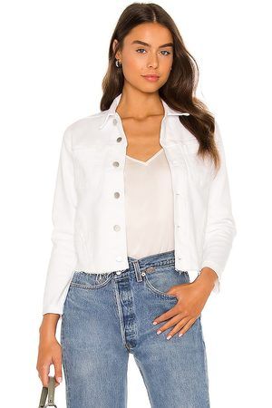 L'Agence Janelle Slim Jacket in - White. Size L (also in XS, S, M).