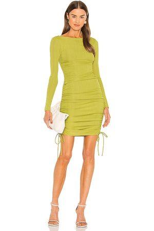 Camila Coelho Tiara Mini Dress in - Green. Size L (also in XXS, XS, S, M, XL).