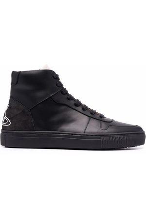 Vivienne Westwood Senhora Ténis - Flatform high-top sneakers