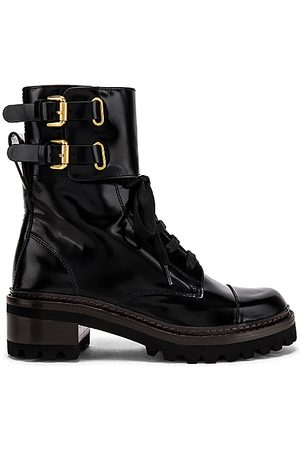 See by Chloé Mallory Boot in - Black. Size 36 (also in 37, 38, 39, 40, 41).