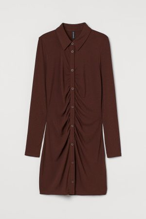 H&M Senhora Vestidos - Vestido camiseiro em jersey