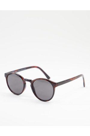 Weekday Spy sunglasses in beige-Neutral