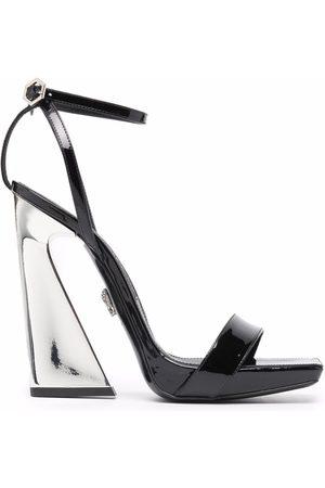 Philipp Plein High heel leather sandals
