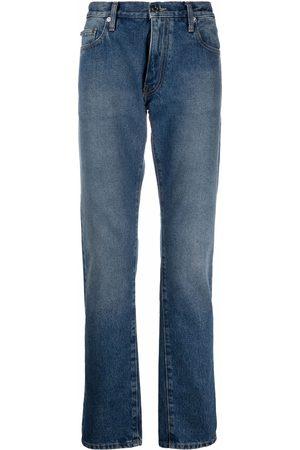 Off-White Homem Slim - Tapered slim-fit jeans