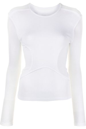 DION LEE Layered long-sleeved T-shirt