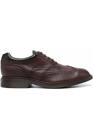 Hogan Lace-up leather brogues