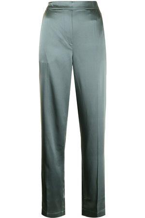 Joseph Tova straight-leg silk trousers