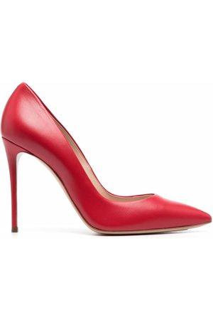 Casadei Senhora Plataformas - Pointed leather pumps