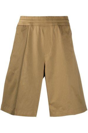 Neil Barrett Wide leg bermuda shorts