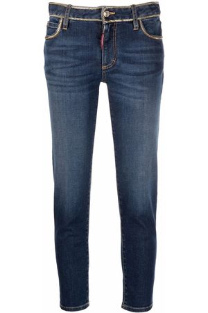 Dsquared2 Twiggy cropped slim jeans