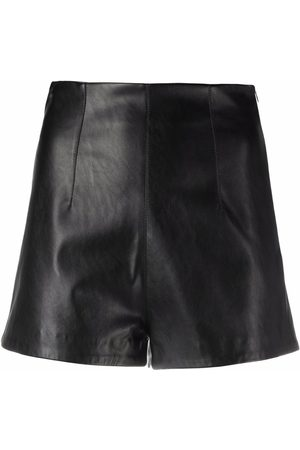 Pinko Senhora Calções - Dart-detail high-waist shorts