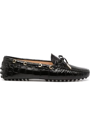 Tod's Senhora Oxford & Moccassins - Gommino bow detail loafers