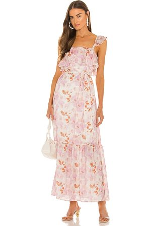 House of Harlow X Sofia Richie Evelyne Maxi Dress in - Pink. Size L (also in S, XXS, XS, M, XL).