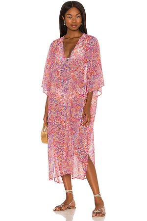 House of Harlow X Sofia Richie Emilia Caftan in - Pink. Size L (also in S, XXS, XS, M, XL).
