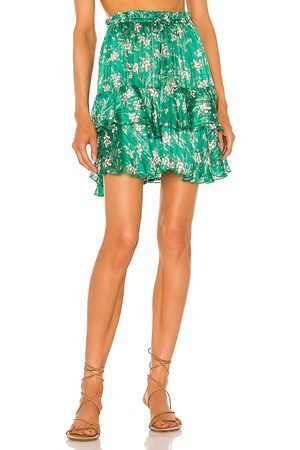 Sabina Musayev Meredith Skirt in - Green. Size L (also in XS, S, M).