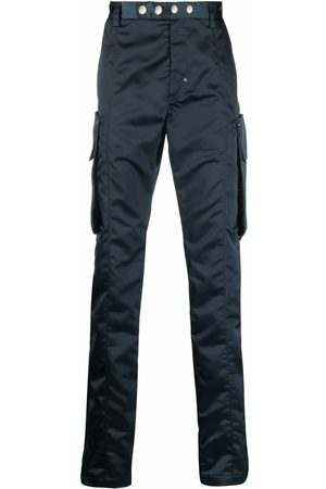 1017 ALYX 9SM High-shine slim-cut trousers
