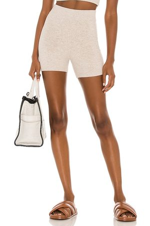 Weekend Stories Maddox Short in - Taupe. Size L (also in XXS, XS, S, M, XL).