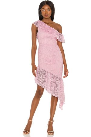 MAJORELLE Belvidera Gown in - Pink. Size L (also in XXS, XS, S, M, XL).