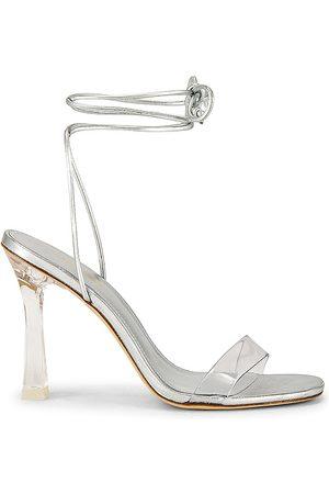 Larroude Gloria Heel in - Metallic . Size 10 (also in 6, 6.5, 7.5, 8, 9).