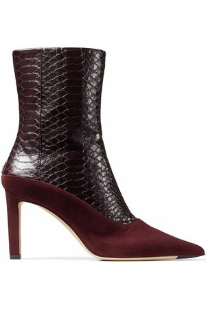 Jimmy Choo Senhora Botins - Mavie 85mm ankle boots