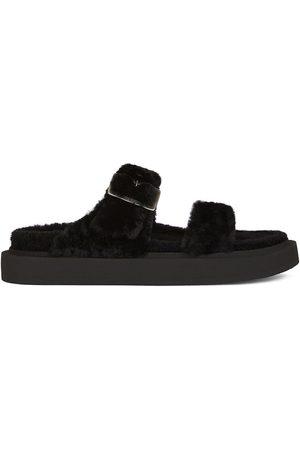 Giuseppe Zanotti Homem Sandálias - Furry Him sandals