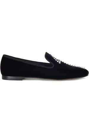 Giuseppe Zanotti Senhora Oxford & Moccassins - G-Dalila crystal-embellished loafers