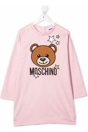 Moschino Graphic-print jersey dress