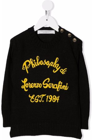 PHILOSOPHY DI LORENZO SERAFINI Embroidered logo jumper