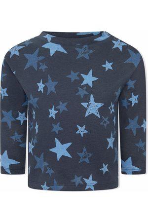 Molo Bebé T-shirts & Manga Curta - Organic cotton star-print top