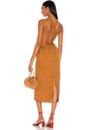Bardot The Grecian Midi Dress in - . Size L (also in XS, S, M).