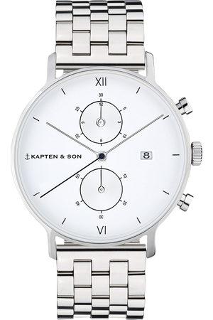Kapten & Son Relógios analógicos 'Small Chrono Steel