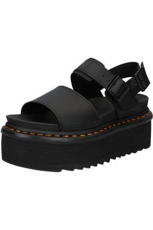 Dr. Martens Senhora Sandálias de cunha - Sandálias com tiras 'Voss Quad