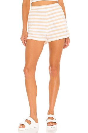 The Upside Makai Christina Short in - Tan. Size L (also in XS, S, M).