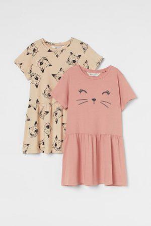 H&M Pack de 2 vestidos em jersey