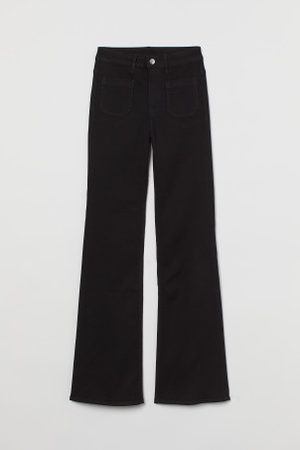 H&M Flare High Waist Jeans