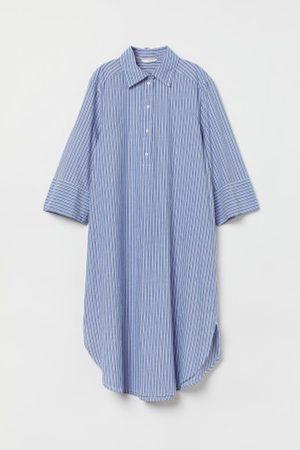 H&M Vestido camiseiro