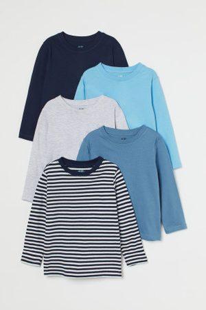 H&M Camisolas em jersey, pack de 5