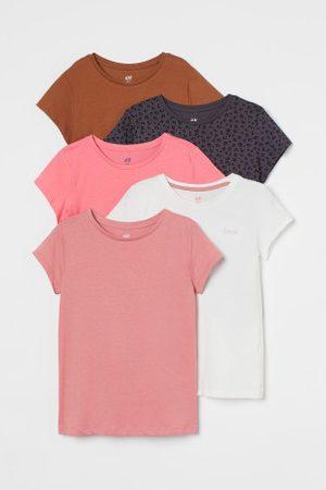 H&M Pack de 5 t-shirts em algodão