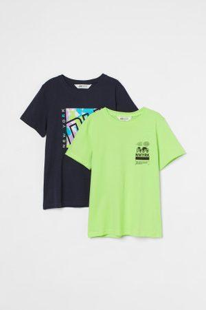 H&M Criança T-shirts & Manga Curta - Pack de 2 t-shirts em algodão