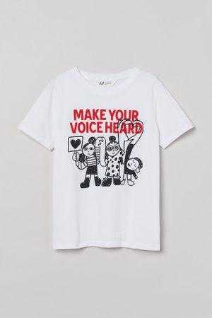 H&M T-shirt com motivo estampado