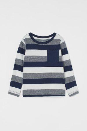 H&M Criança Camisolas sem capuz - Camisola em jersey com bolso