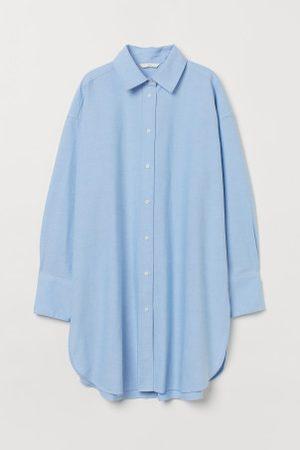 H&M Senhora Casual - Camisa oversize